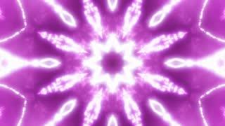 Sparkling Flower Kaleidoscope