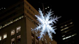 Sparkling Light Up Snowflake