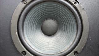 Speaker Blasting Music
