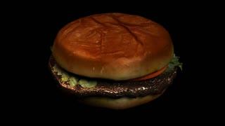 Spinning Beef Burger
