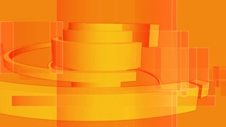 Spinning Column Rendering Orange