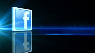 Spinning Facebook Icon