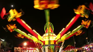Spinning Fair Ride