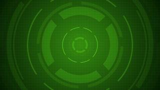 Spinning Green Target