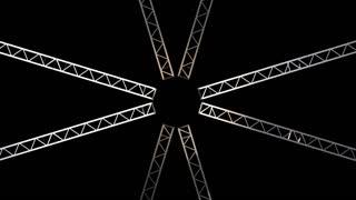 spinning iron pole