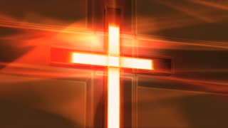 Spinning Light Cross