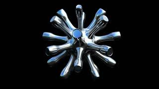 Spinning Metal Silver
