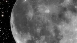Spinning Moon