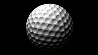 Spinning of Golf Ball
