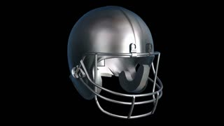 Spinning Football Helmet