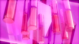 Spinning Pink Tube