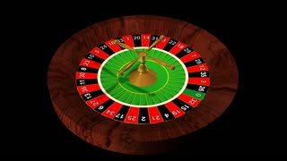 Spinning plate roulette