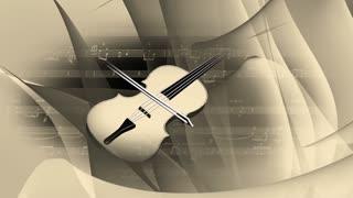 Spinning Violin