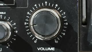 Spinning Volume Knob