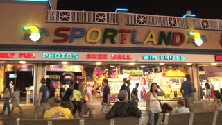 Sportland Video Game Arcade in Ocean City Maryland