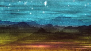 Star Of Bethlehem Abstract Grunge Christmas Stars