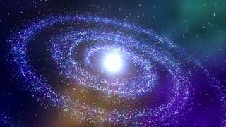 Stars Circling in Galaxy