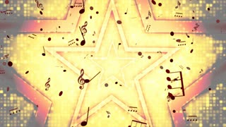 Stars Music Golden