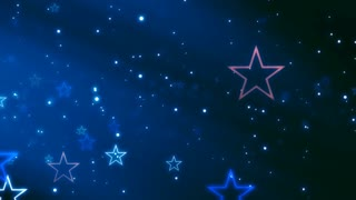 Stars On the Dark Blue Night