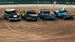 Starting Lineup For Demolition Derby