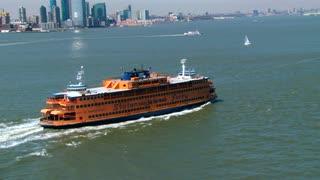 Staten Island Ferry Aerial