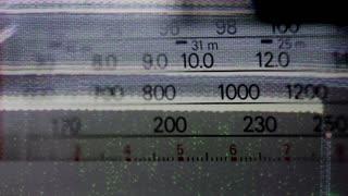 Static Radio Dial