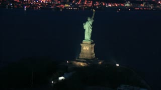 Statue of Liberty at Night 2