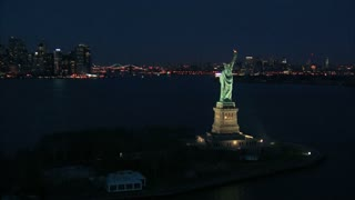 Statue of Liberty at Night 3