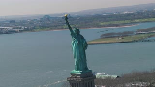 Statue of Liberty Standing Tall