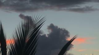 Steady Clouds In Island Sky