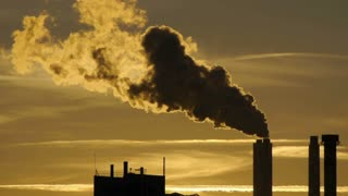 steam pollution smoke smog. atmosphere climate. energy. industrial industry