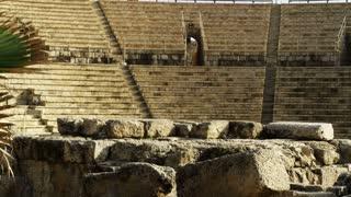 Stone Ruin Of Auditorium