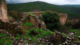 Stone Ruins, Rock Walls, and Greenery 3