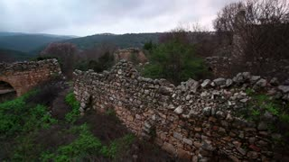 Stone Ruins, Rock Walls, and Greenery 8