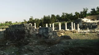 Stone Ruins With Columns