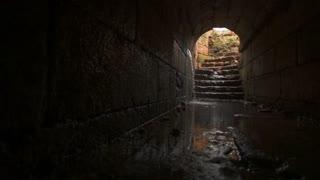 Stone Tunnel Leading to Stairs 2