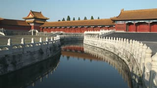 Stream Inside the Forbidden City in China