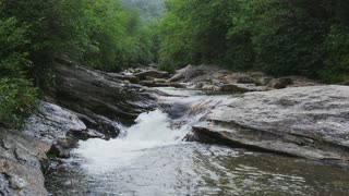 Stream With Miniature Rapids, Shot #2, Blue Ridge Mountains