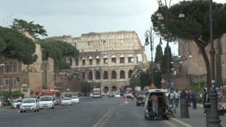 Street in Front of the Colosseum