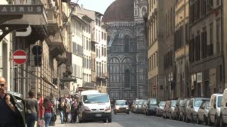 Street in Front of the Duomo