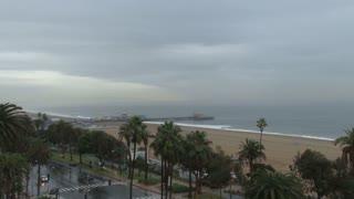 Street Off Santa Monica Pier