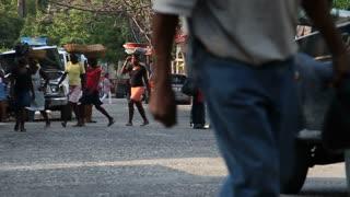 Street Scene In Port-au-prince Haiti