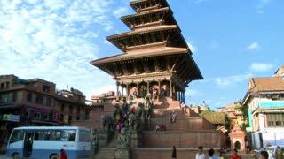 Street Traffic at Bhaktapur Square, Nepal 2