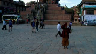 Street Traffic at Bhaktapur Square, Nepal 5