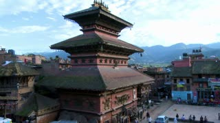 Street Traffic at Bhaktapur Square, Nepal 6