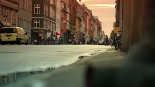 Street Traffic in Copenhagen Denmark 10