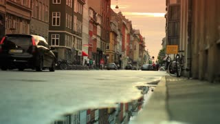 Street Traffic in Copenhagen Denmark 9
