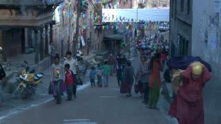 Street Traffic in Kathmandu, Nepal 2