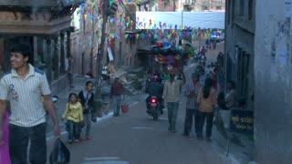 Street Traffic in Kathmandu, Nepal 3
