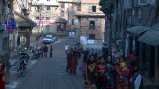 Street Traffic in Kathmandu, Nepal 4